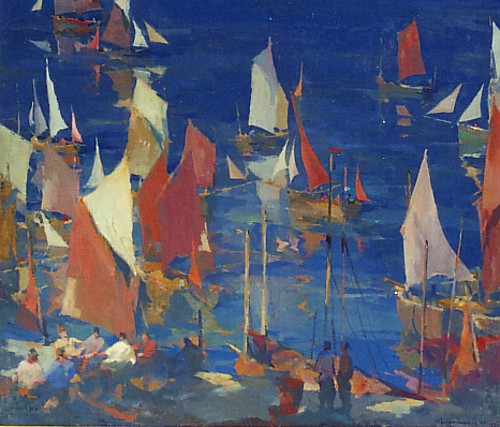 Armin-Hansen - Tapestry of Sails